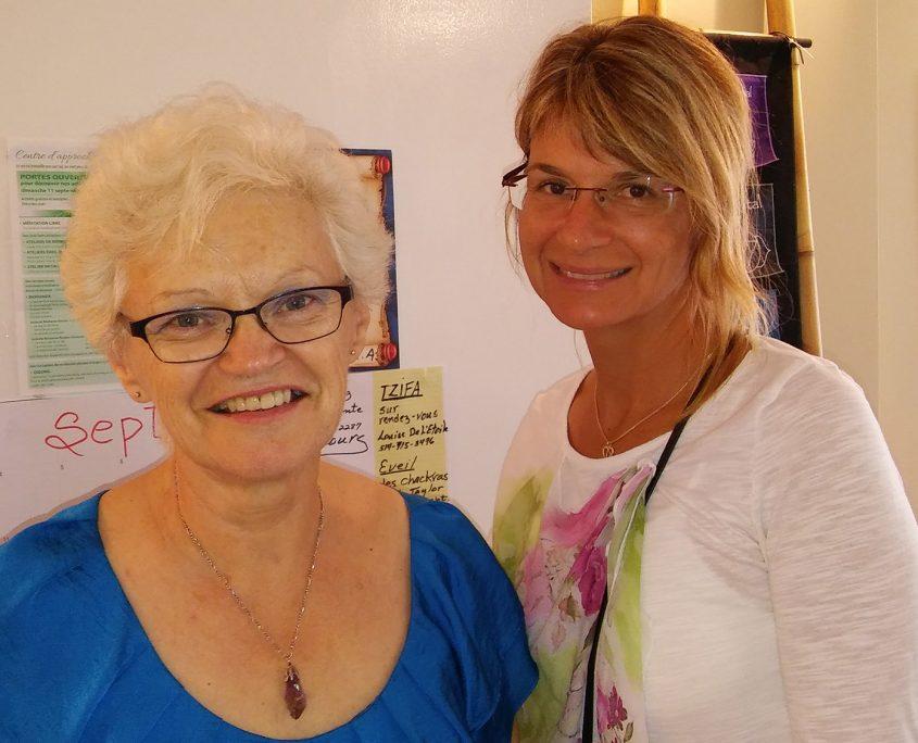 Mme Diane Duquette et Mme Lise Lapointe